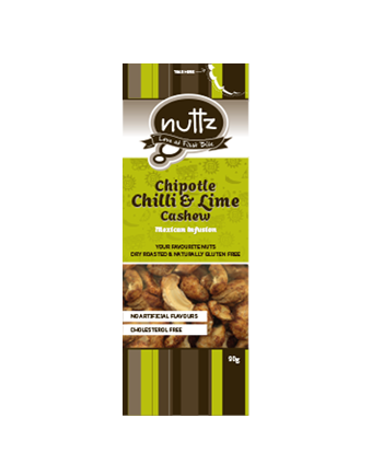 NUTTZ Chipotle Chilli & Lime Cashew