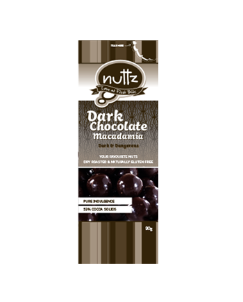 NUTTZ Dark Chocolate Macadamia