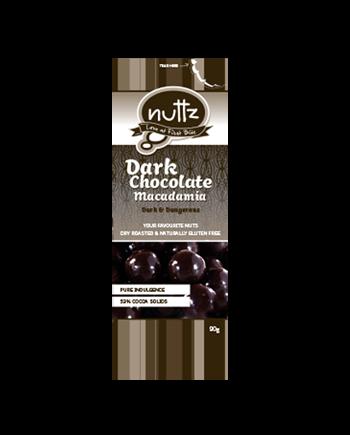 NUTTZ Dark Chocolate Macadamia