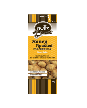 NUTTZ Honey Roasted Macadamia