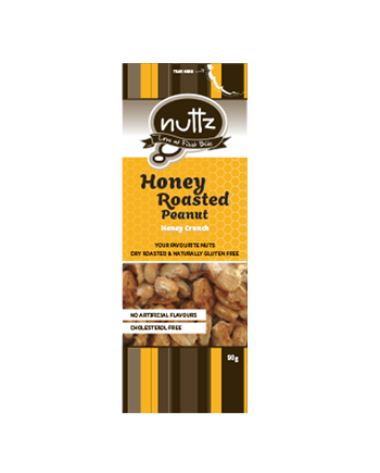 NUTTZ Honey Roasted Peanut