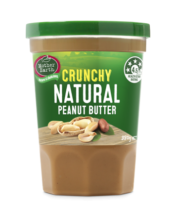 Mother Earth Crunchy Peanut Butter