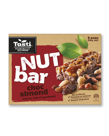 Tasit Nut Bar Choc Almond
