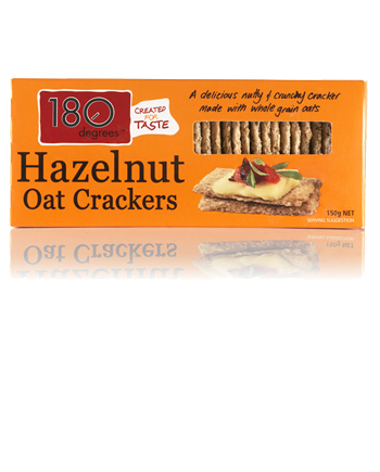 Hazelnutt Oat Crackers