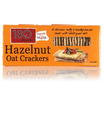 Hazelnutt Oat Crackers