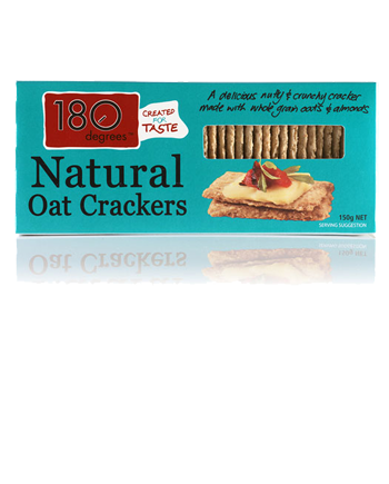 Natural Oat Crackers