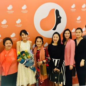 """Baxter Brenton Management Invited to Attend the Grand Opening of the  Flagship Store in Thailand of """"Louisa Coffee"""" , the No.1 Coffee Shop  Chain from Taiwan"""