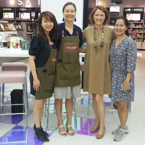 Product Training and In Store Promotion Activities at KIS Stores in Bangkok by Antipodes NZ