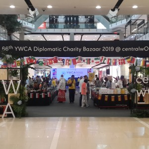 Baxter Brenton Showcased NZ Products at  YWCA Diplomatic Bazaar 2019 Press Conference and Release @ Central World, Bangkok
