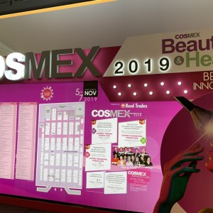Dr. Donn @ COSMEX, Thailand, 2019, Reviewing Skincare Products' Innovation and Trends