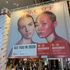 Baxter Brenton's Founder at COSMOPROF ASIA 2019, in Hong Kong, Visiting Existing Suppliers and Reviewing Trends and New Potentials of Skincare Brands From All Over The World