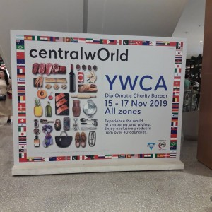 Baxter Brenton Participating In NZ Pavilion at The Annual YWCA Diplomatic Charity Bazaar 2019 at Central World Bangkok