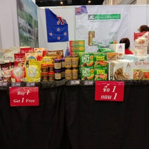 Baxter Brenton with NZ Fine Products @ NZ Booth at Red Cross Bazaar 22-23 Feb 2020, Siam Paragon Hall, Bangkok